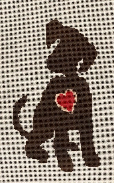 ASIT320 Puppy with Heart