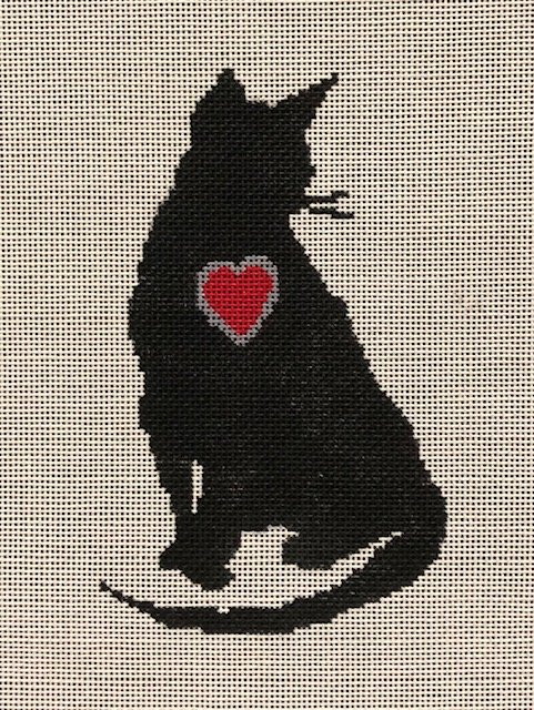 ASIT321 Cat with Heart