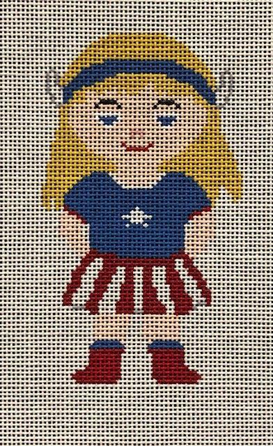 ASIT348 Captain America Girl