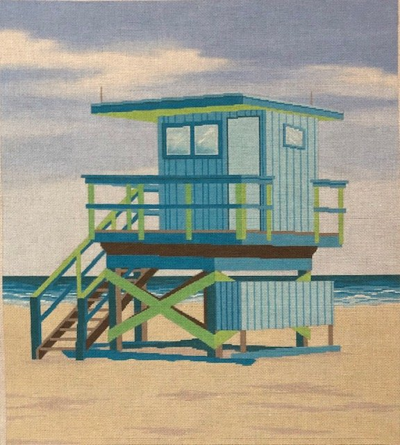 ASIT359 Blue Life Guard Stand