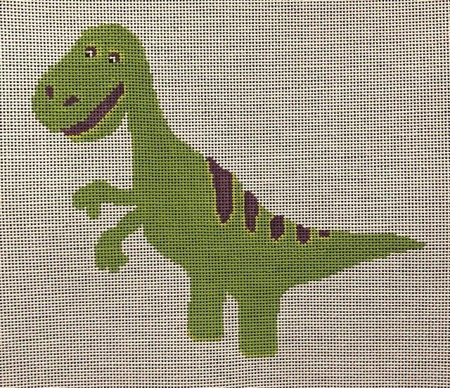 ASIT367 Green Dino