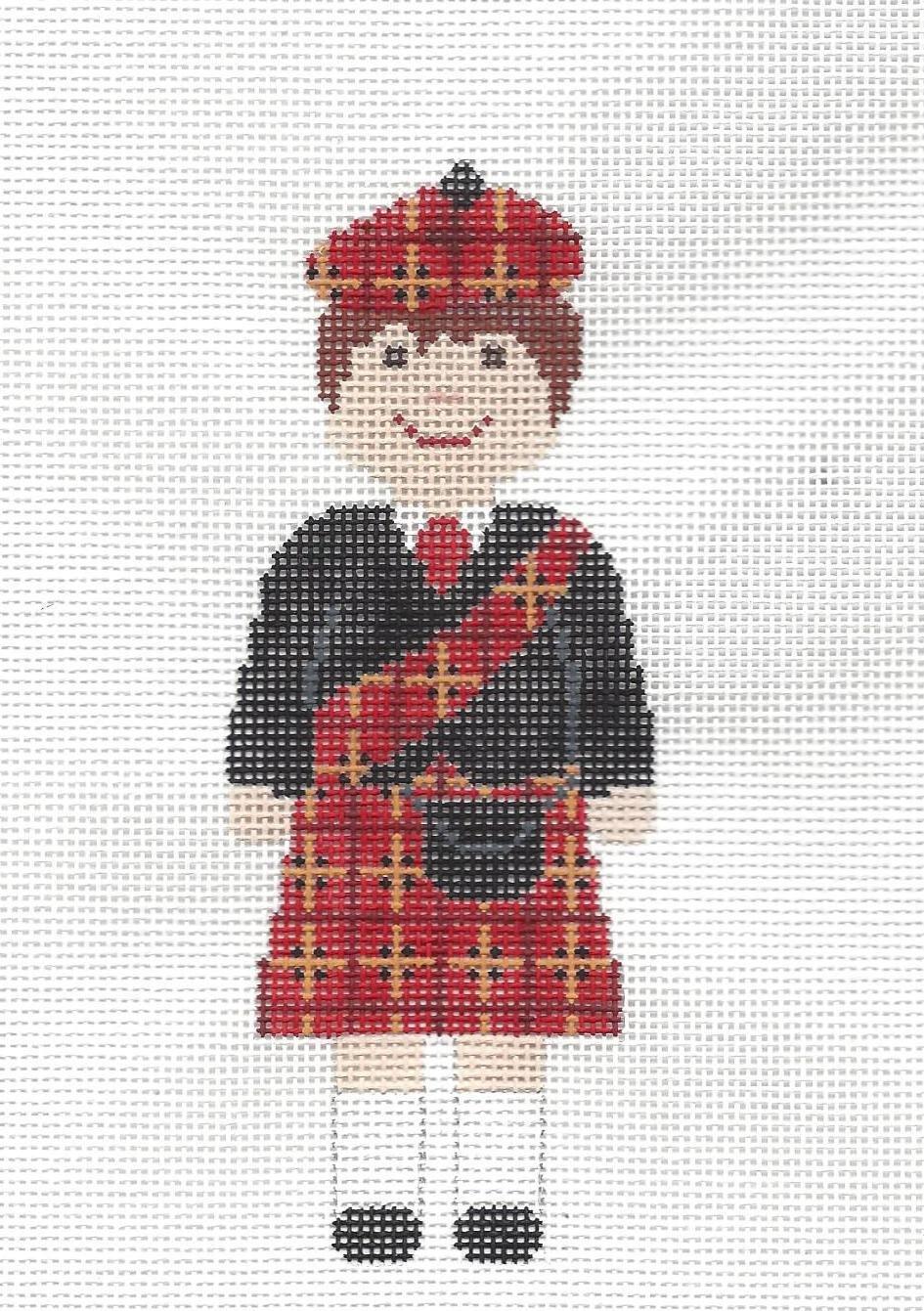 ASIT378b Scottish Boy