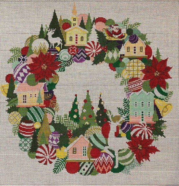 ASIT390 Christmas Wreath