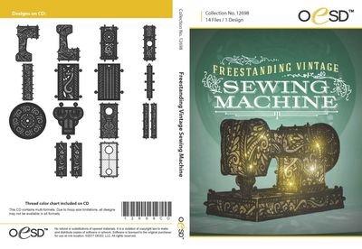 OESD Freestanding Vintage Sewing Machine 12698CD