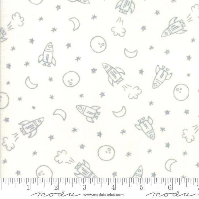 Soft Sweet Grey Cream Flannel 20601 11F