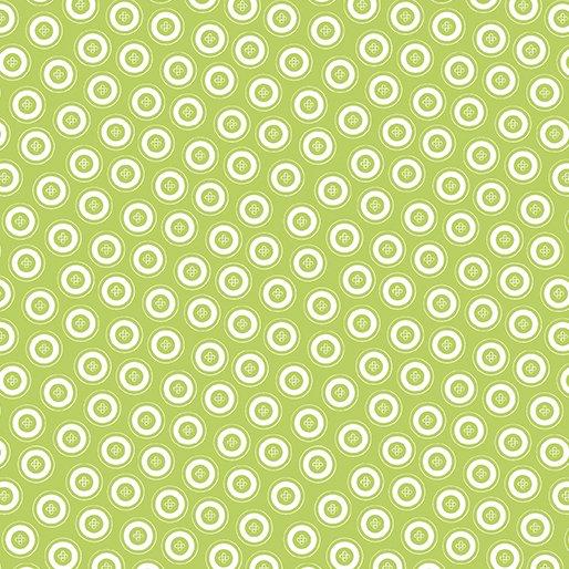 SALE Dotty Buttons Green 7595-44