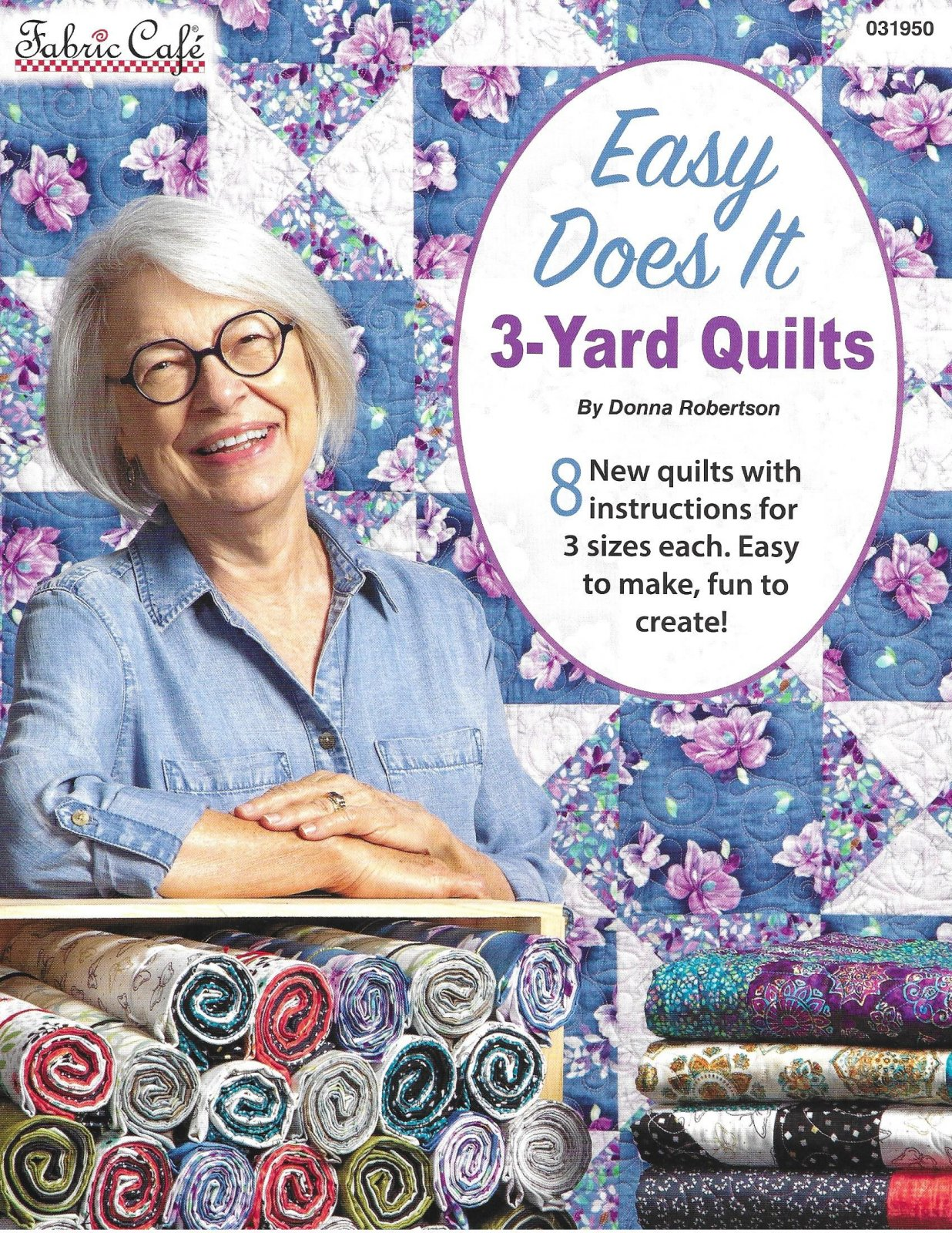EASY DOES IT 3 yd QUILTS  PATTRN8008H