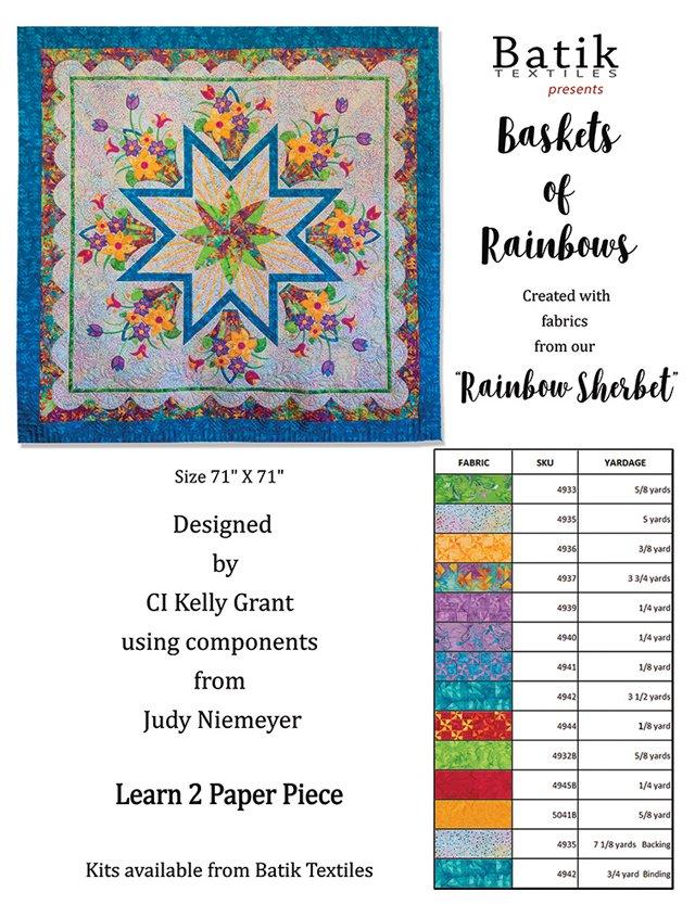 Kit Basket of Rainbows BTQ19047