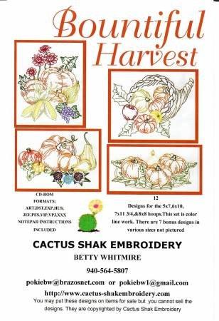 Cactus Shak Bountiful Harvest CC117