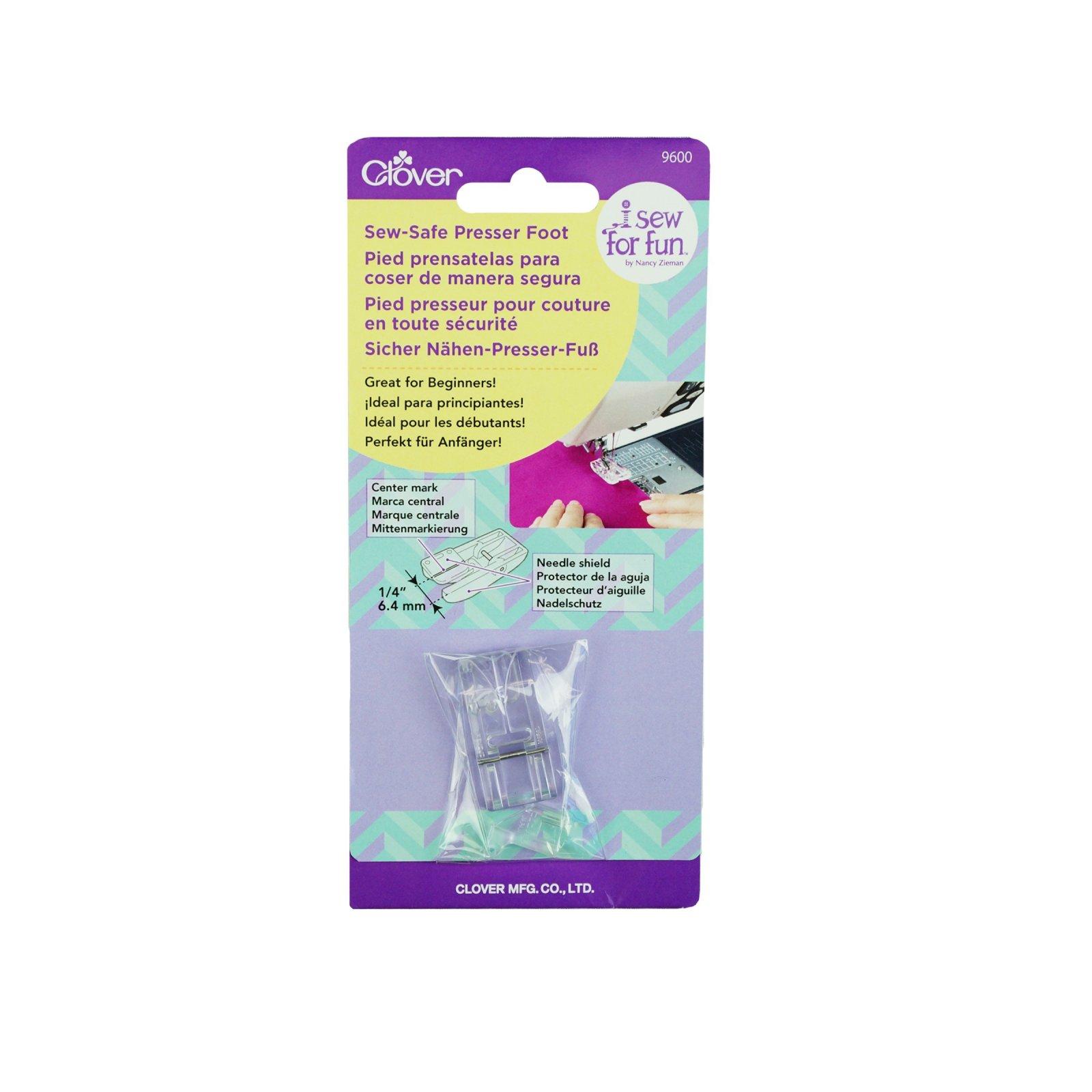 Clover I Sew For Fun - Sew Safe Presser Foot CL9600