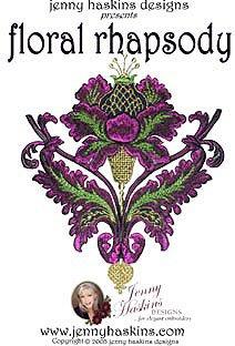 Floral Rhapsody by Jenny Haskins frjh
