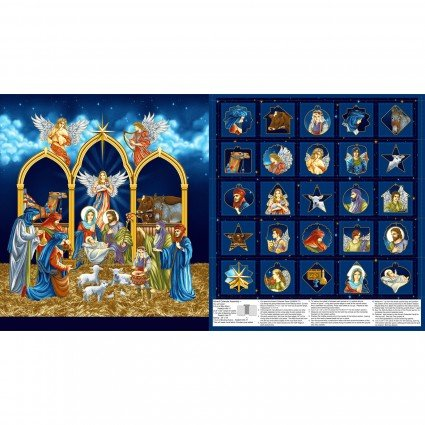 SALE Advent Calendar Silent Night HEG2508PM-77