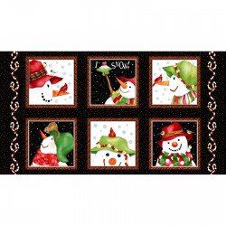 SALE Panel Snow Bird Flannel F9118-99