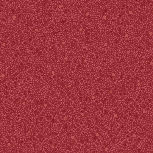 Homegrown Circle Dot Red 0680810