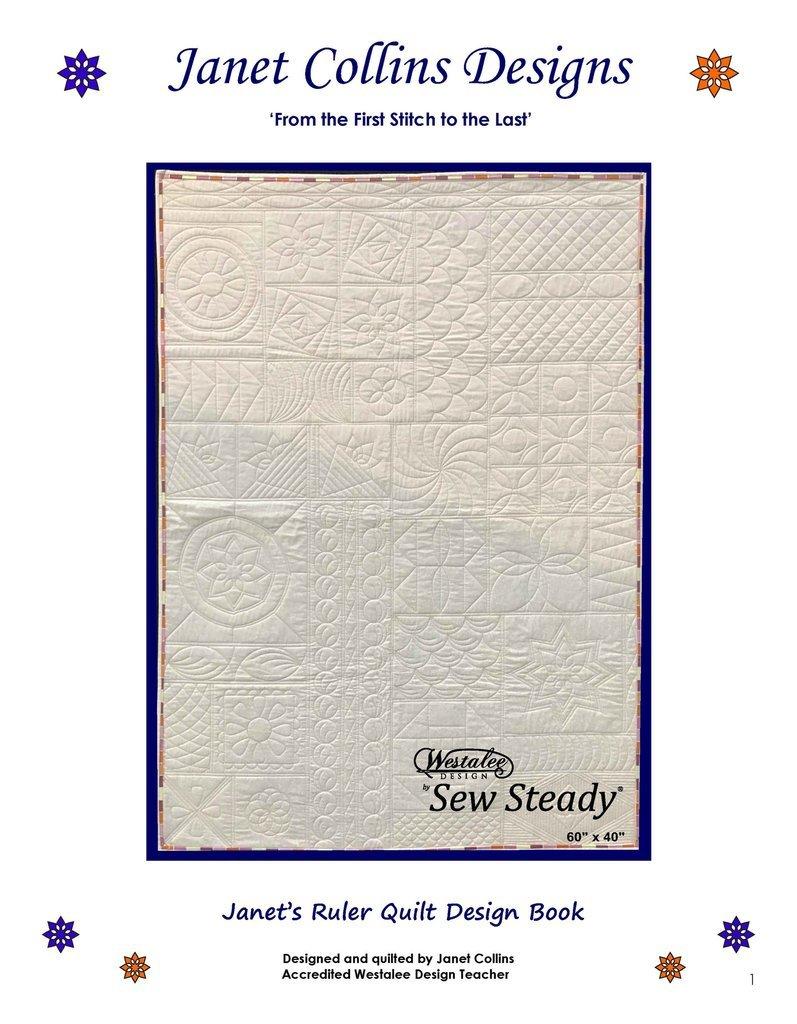 Westalee Janet 's Ruler Quilt Design Book - SQBOOKJC