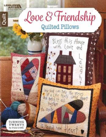 Love & Friendship Quilted Pillow 6751