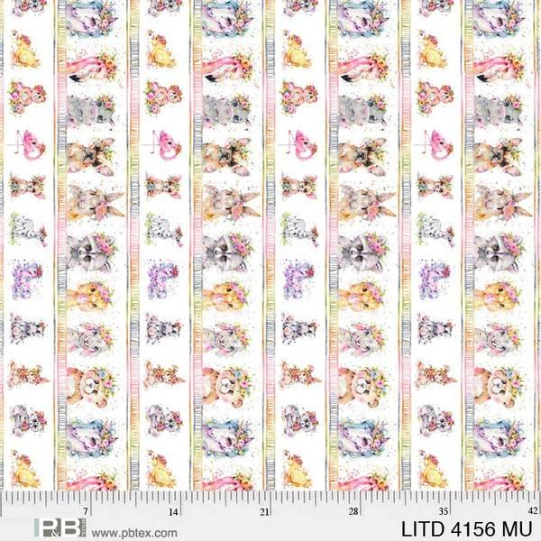 Little Darlings Animal Stripe 0456