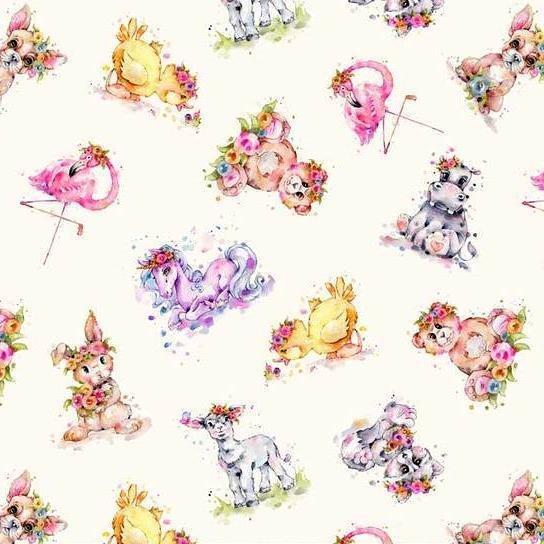 Little Darlings Toss Animals 04157