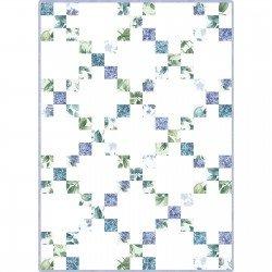 Pod Irish Chain Watercolor Hydrangeas MAS06-WAH