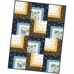Pod Corner Cabin Quilt English Countryside  MAS08-ENC