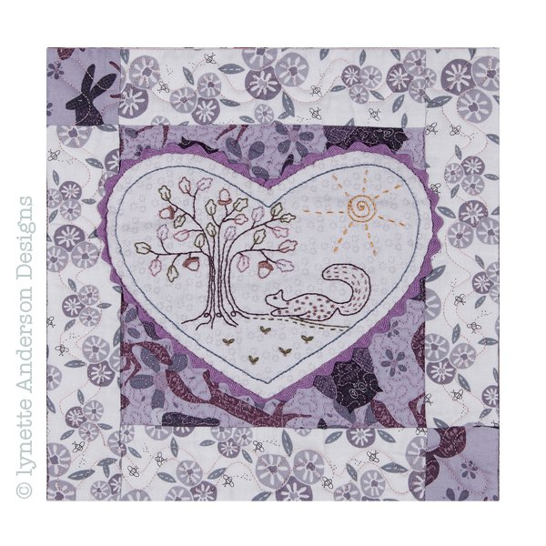 Woodland Secrets by Lynette Anderson Designs - Month 7