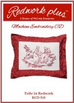 Toile in Redwork RCD-510