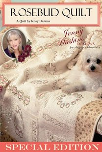Rosebud Quilt by Jenny Haskins Roseme
