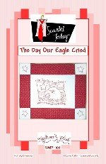 SALE Redwork Plus The Day Our Eagle Cried RWP-100