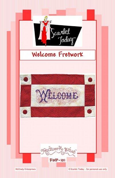 SALE Welcome Fretwork RWP-101