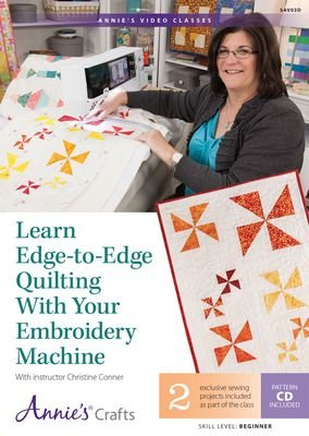 Edge to Edge Quilting Learn to do with Machine Embroidery SAV03d