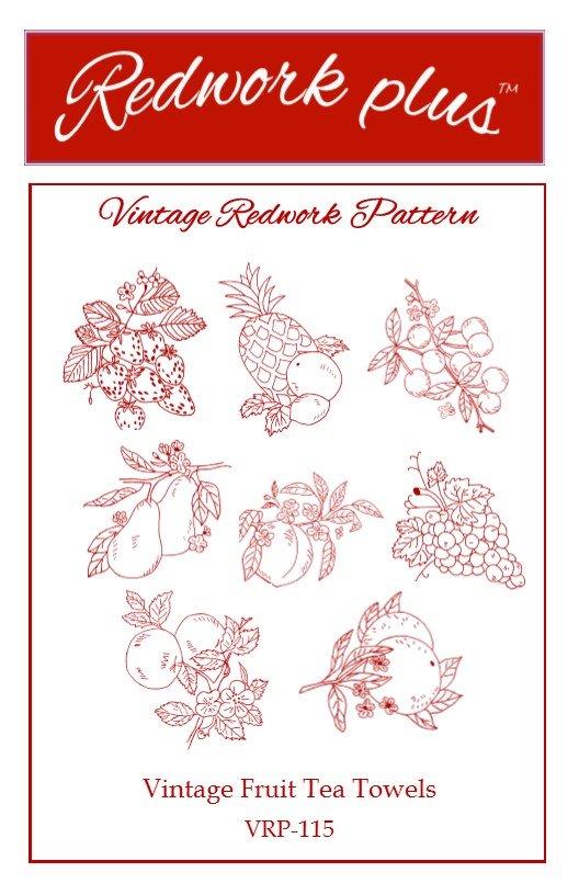 Vintage Fruit Tea Towels VRP-115