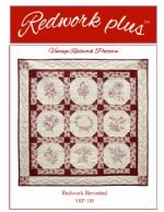 SALE Redwork Plus Redwork Revisited VRP-120