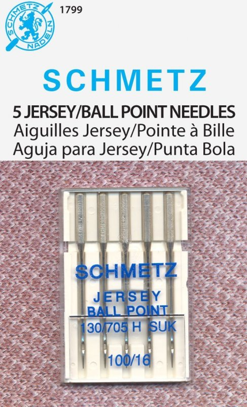 Schmetz sewing needles Jersey/Ball Point 130/705H SUK