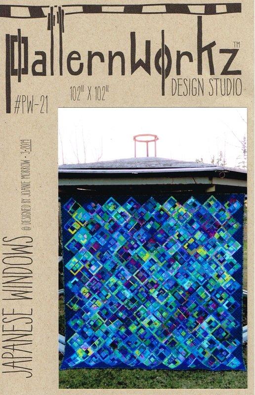 Patternworkz Design Studio, Joanie Morrow, Japanese Windows quilt pattern #PW-21