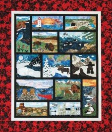 Oh Canada Mystery Quilt Finishing Kit