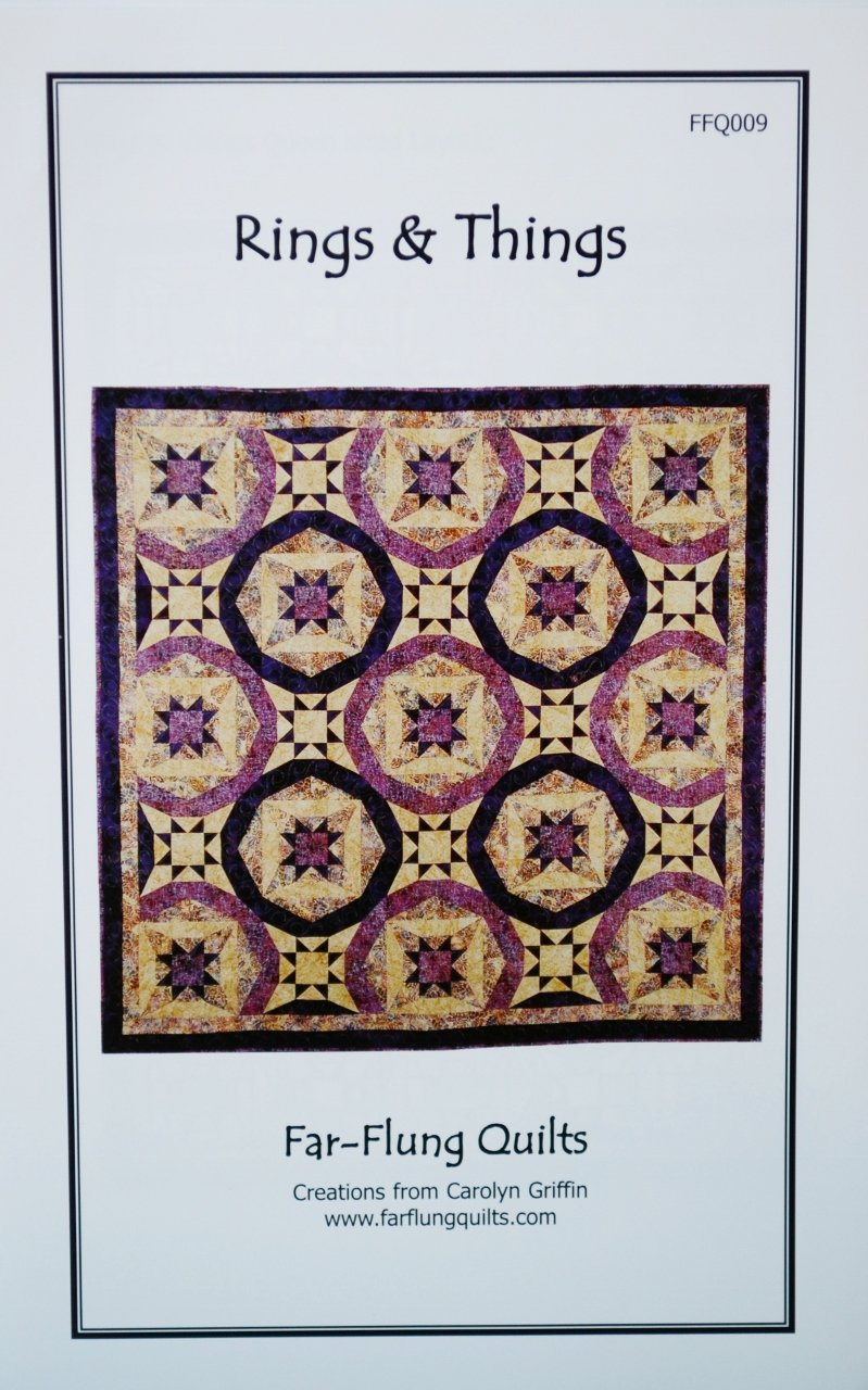 Far-Flung Quilts Carolyn Griffin Skirting Christmas FFQ019