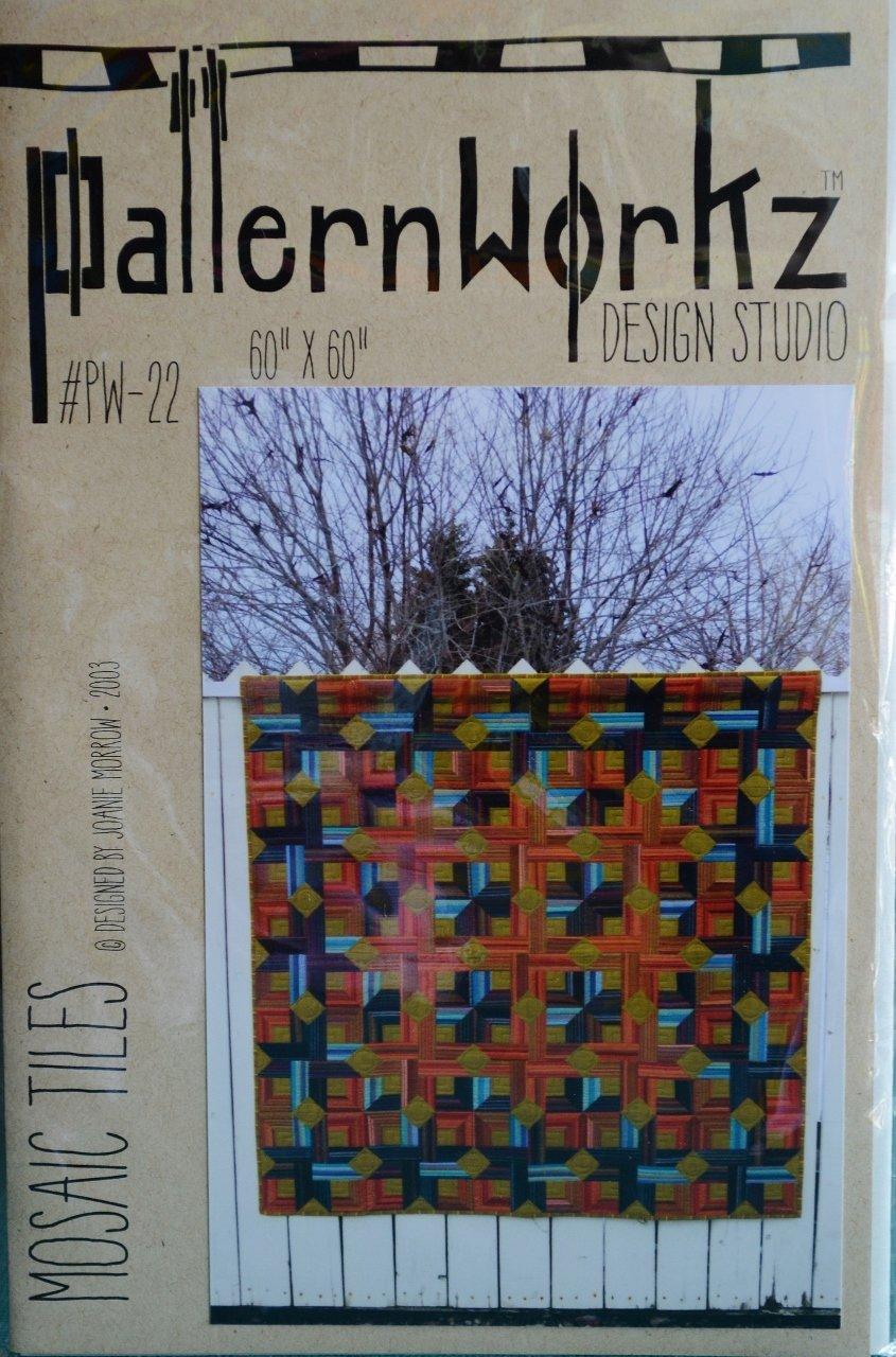 Patternworkz Design Studio, Joanie Morrow, Mosaic Tiles PW-22