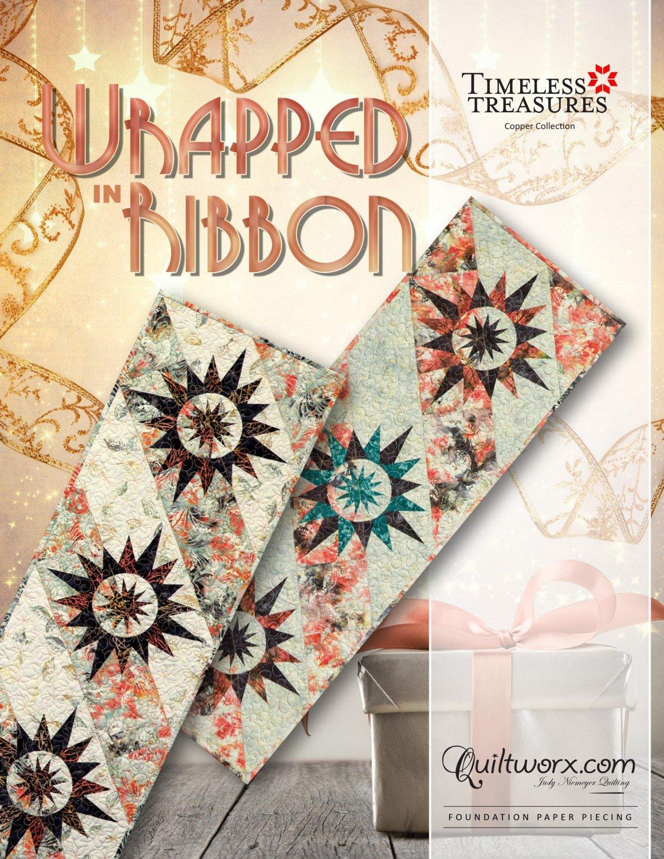 Quiltworx Judy Niemeyer, Timeless Treasures, Wrapped Ribbon, JNQ98P2