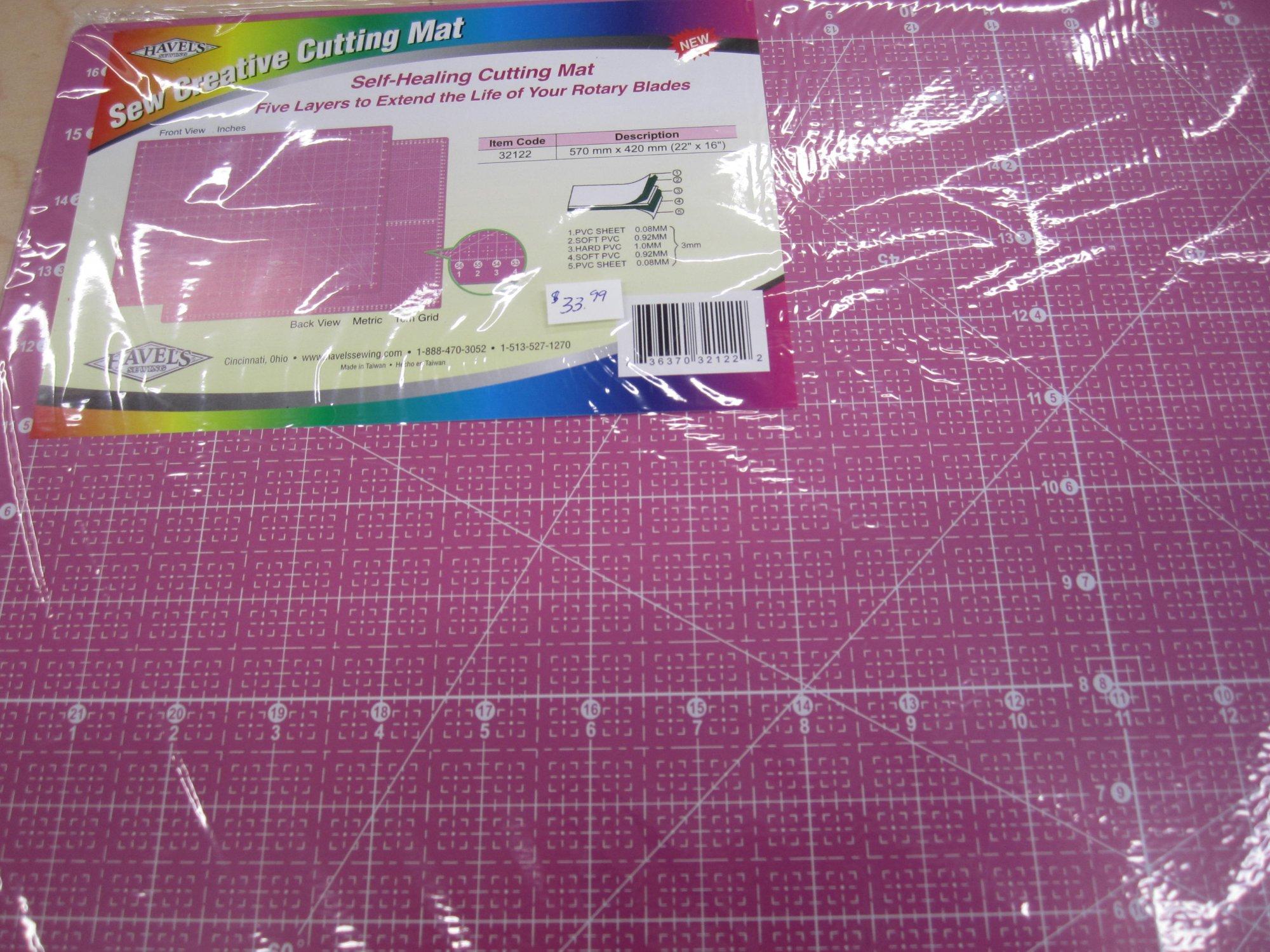 Sew Creative cutting matt