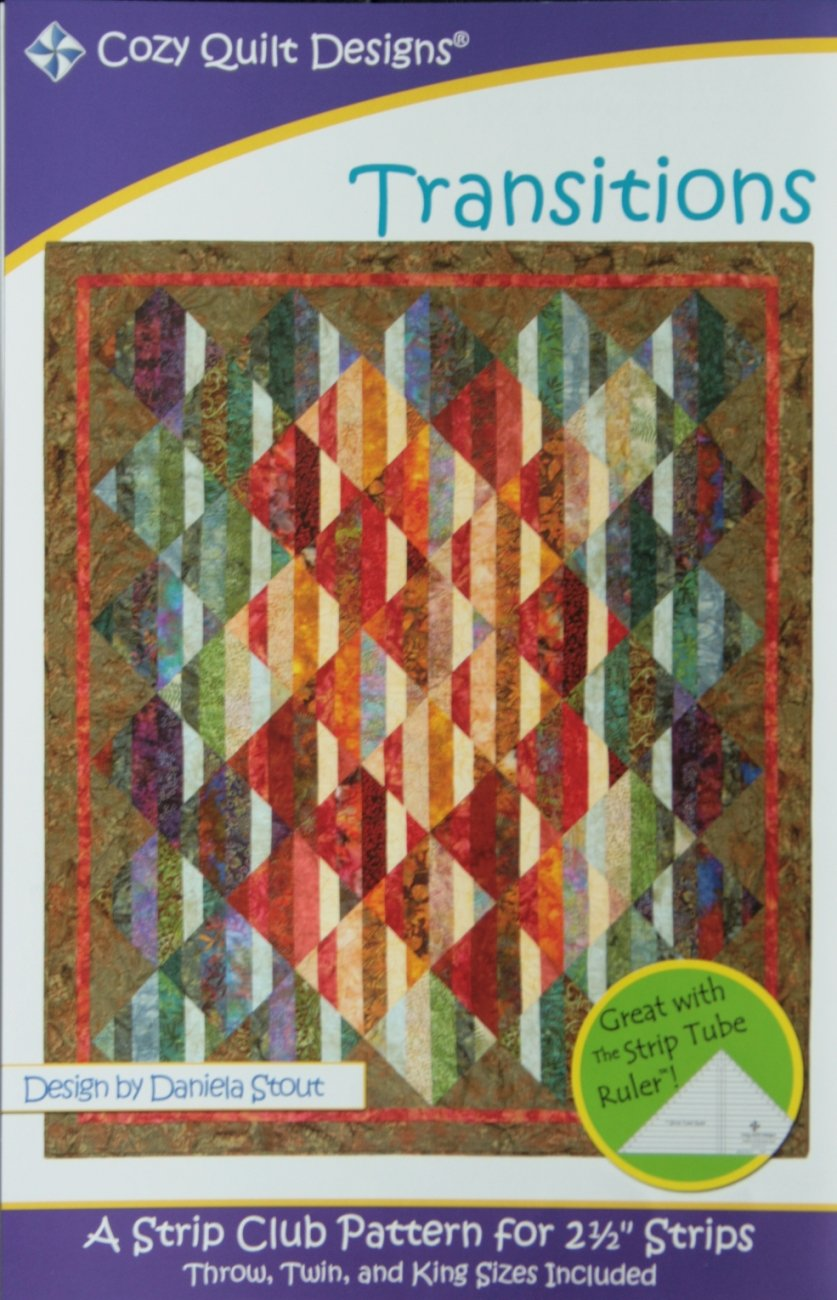 Cozy Quilt Design Daniela Stout Transitions SRR-TRAN