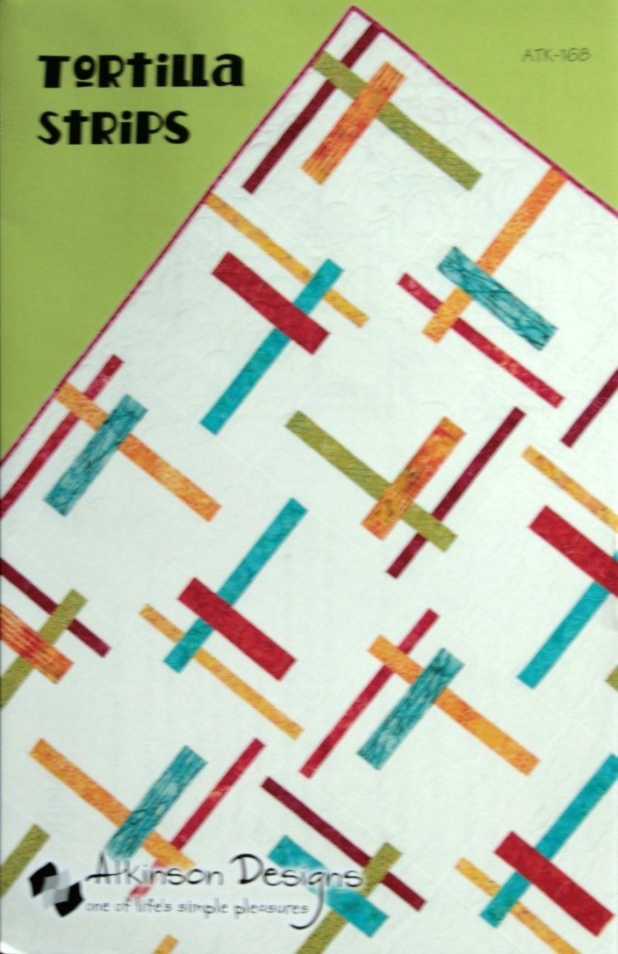 Atkinson Designs Tortilla Strips quilt pattern