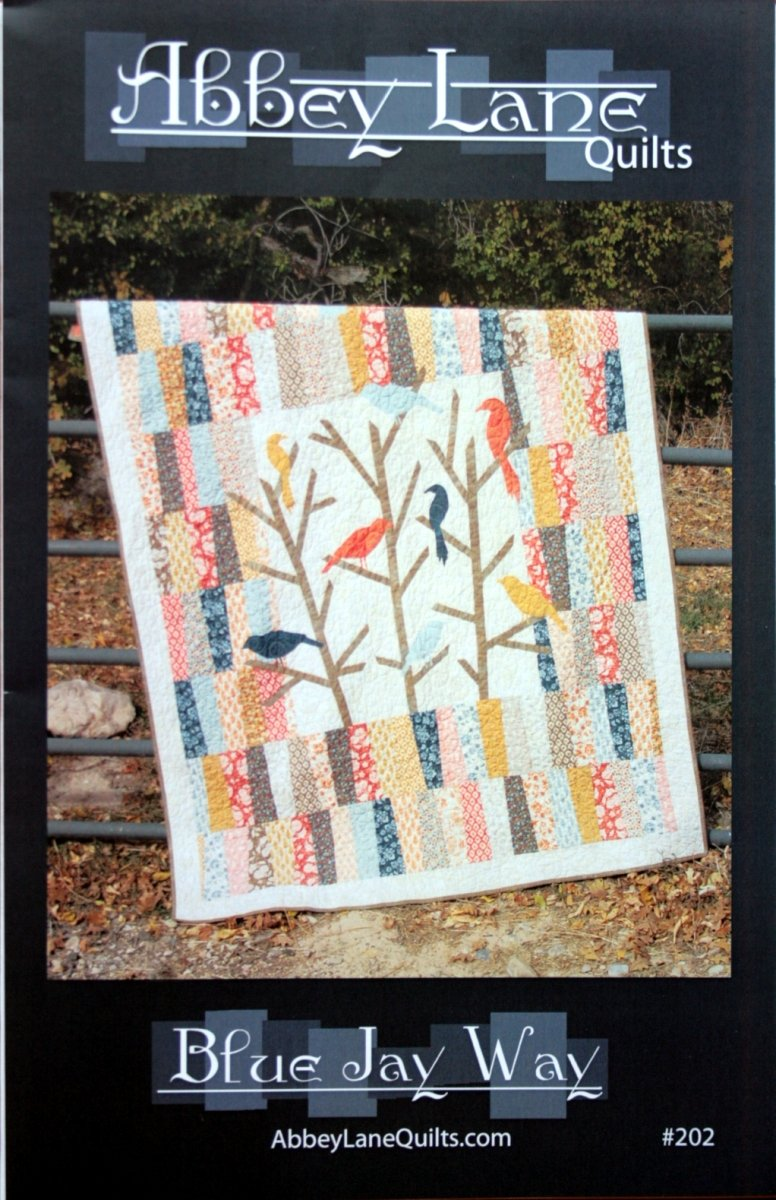 Abbey Lane Quilts Blue Jay Way quilt pattern AB202