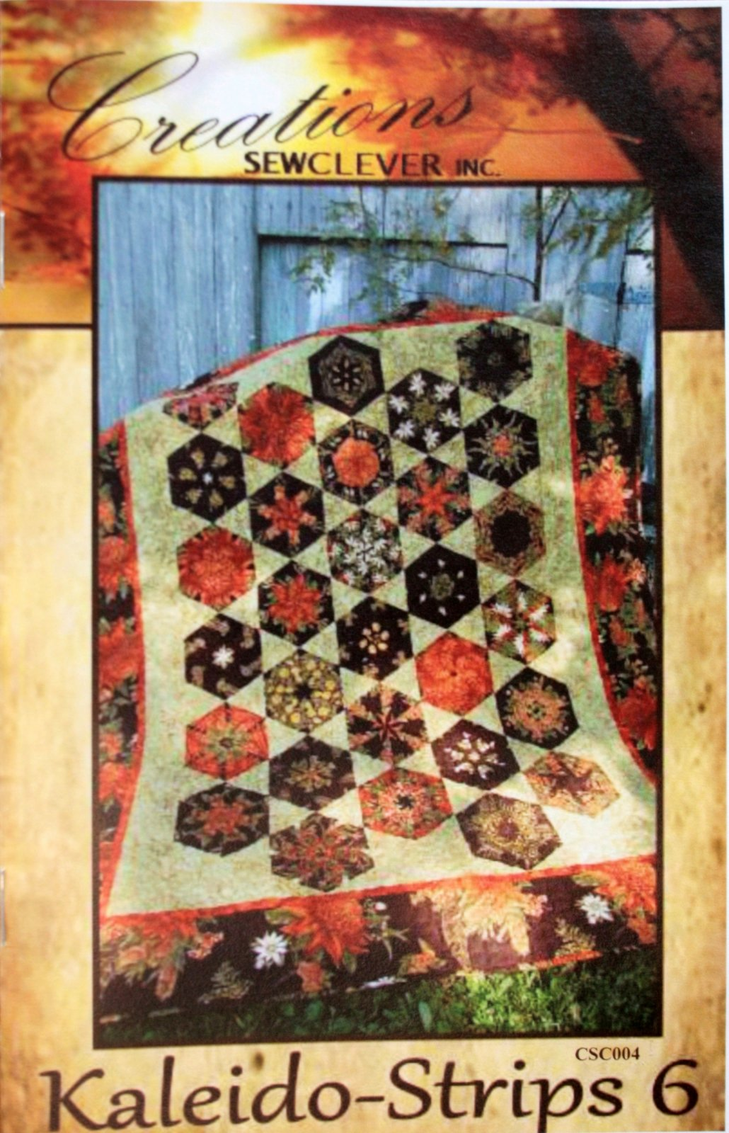Creations Sewclever inc. Kaleido-strips 6