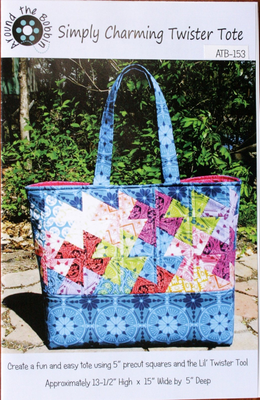 Around the Bobbin, Simply Charming Twister Tote