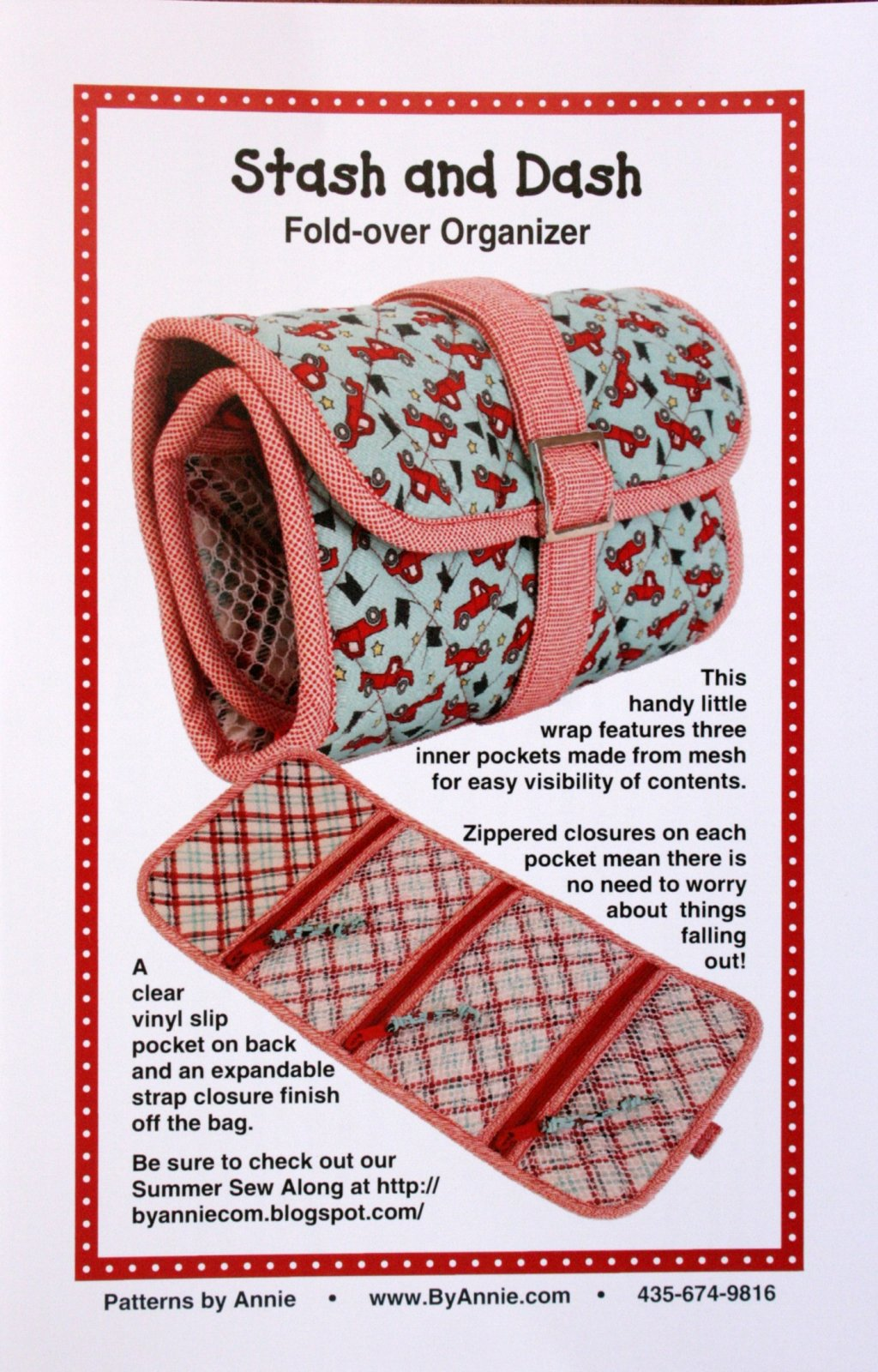 By Annie's, Stash and Dash Fold-over Organizer