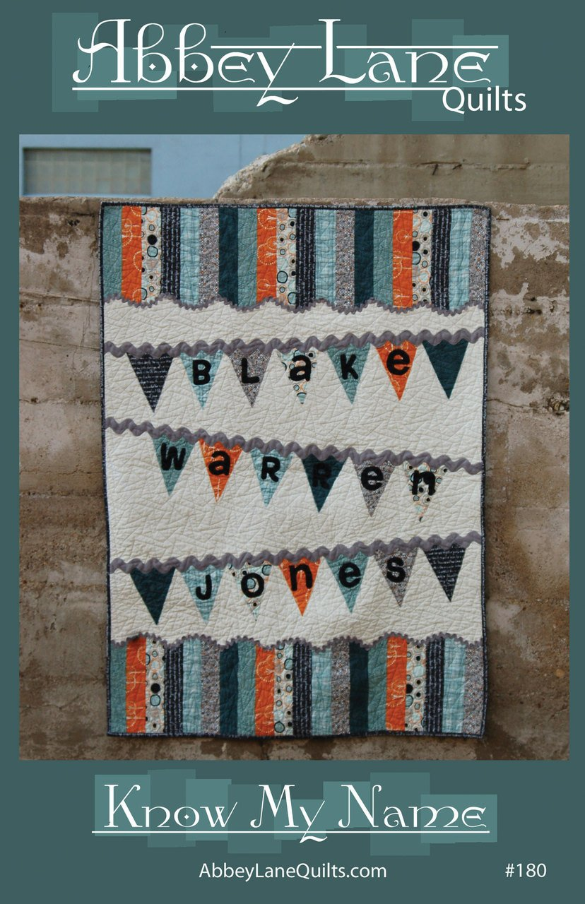Abbey Lane Quilts, Know my Name AB180