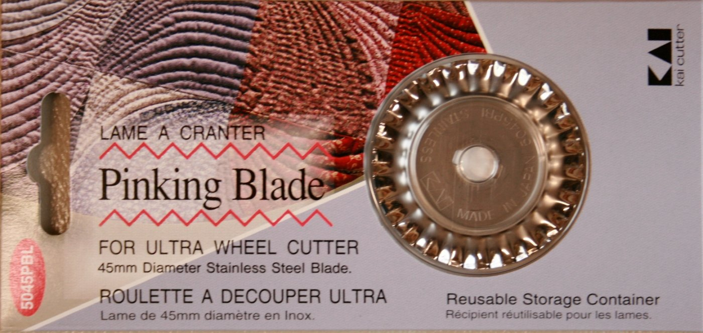Kai 45 mm Pinking blade for rotary cutter