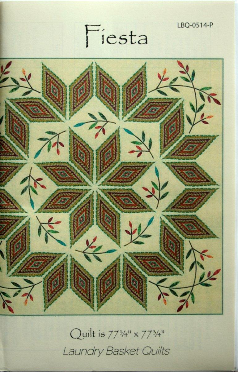 Laundry Basket Quilts Edyta Sitar Fiesta quilt pattern