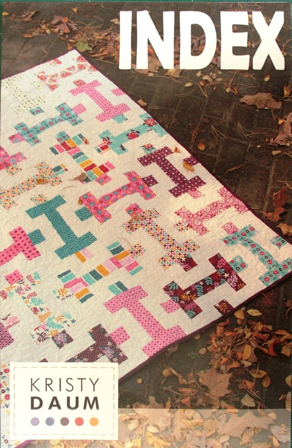 Kristy Daum,  Index quilt pattern