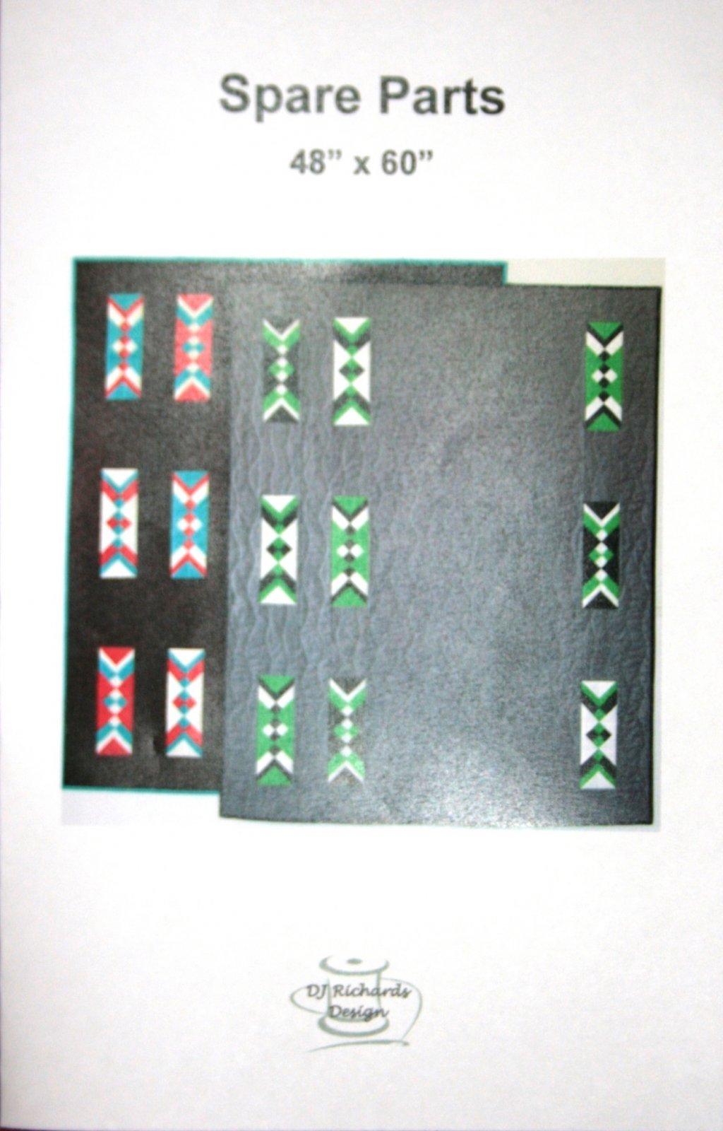 DJ Richards, Spare Parts quilt pattern
